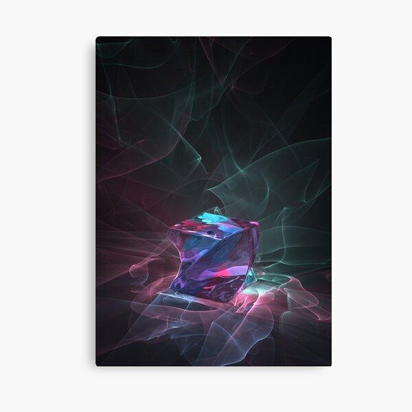 Caustics Madness - Screwed Cube Canvas Print