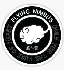 Flying Nimbus Sticker