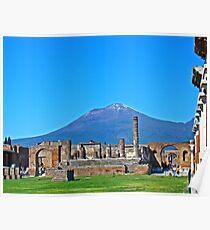 Pompeii & Vesuvius VIII Poster