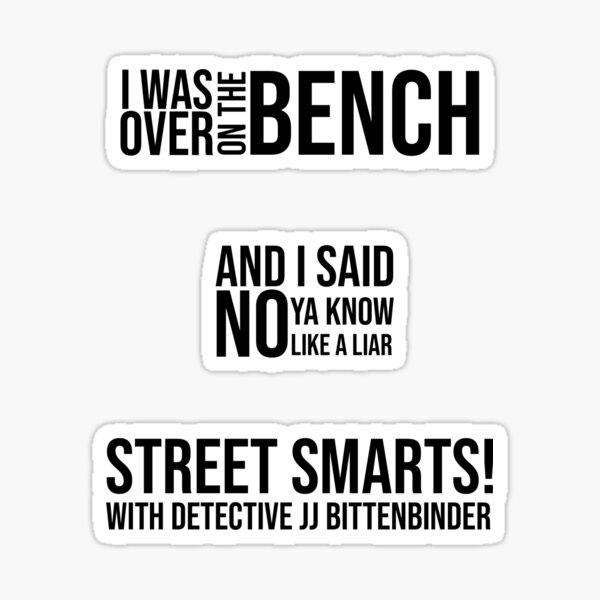 John Mulaney quote set Sticker
