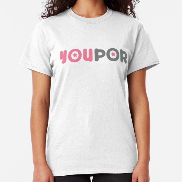Official White YouPorn t-shirt Classic T-Shirt