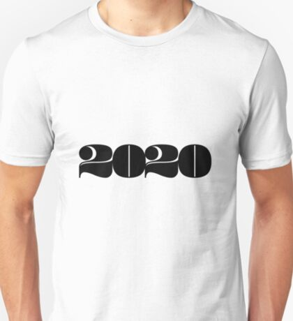 2020 Year | Typography | Horizontal T-Shirt