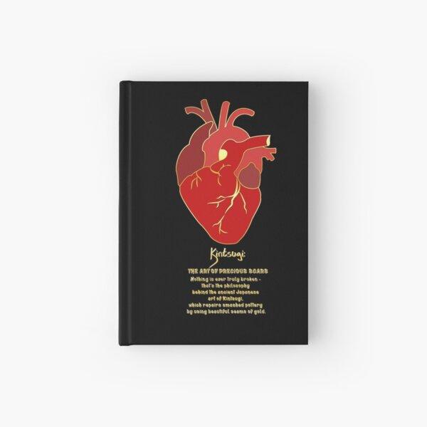 Kintsugi Heart Hardcover Journal