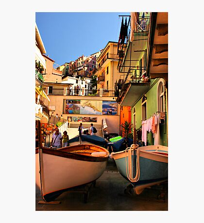 Streets of Manarola Photographic Print