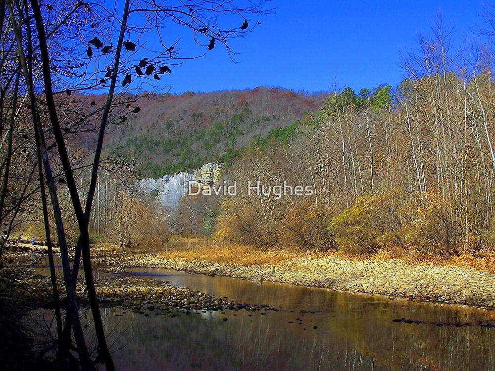 Buffalo River, at Steel Creek by David  Hughes