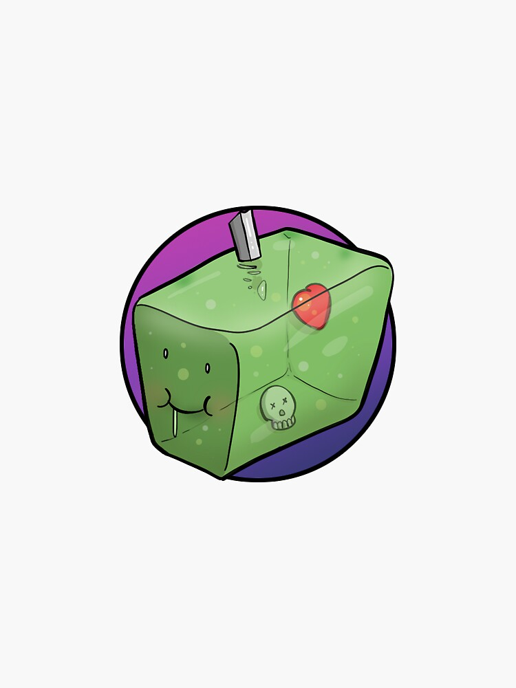 Cute Gelatinous Cube by smack2015