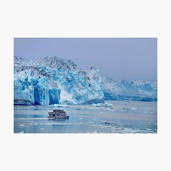 Hubbard Glacier, Alaska Photographic Print