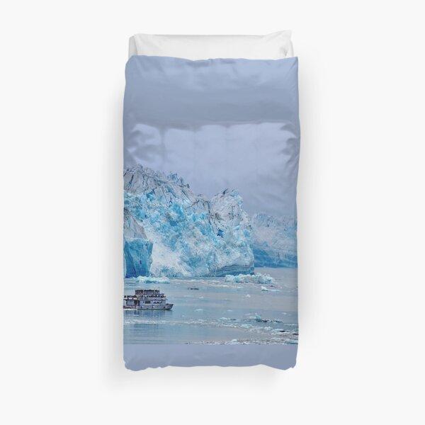 Hubbard Glacier, Alaska Duvet Cover