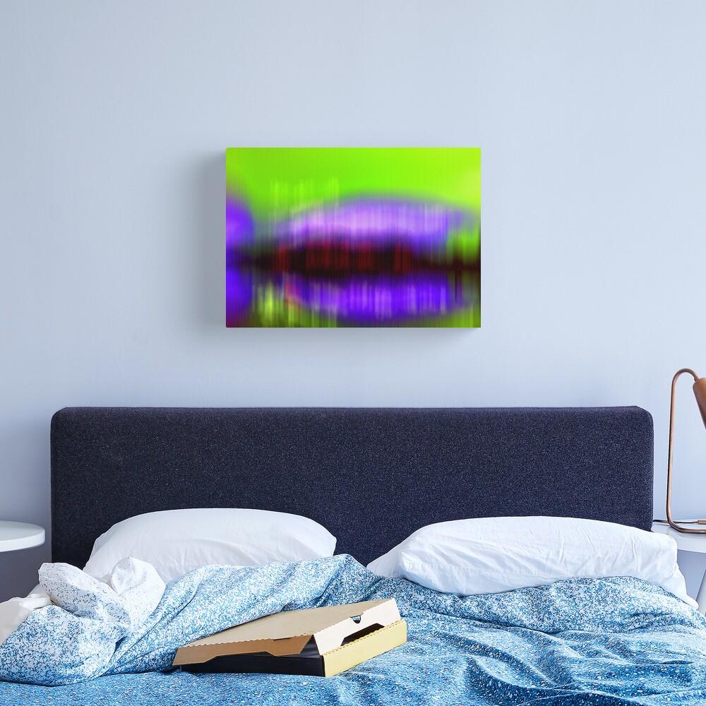 Island Lightning  Canvas Print