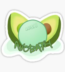LUSH Avobath Sticker