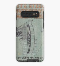 Vintage Water Wheel Catalog Cover Case/Skin for Samsung Galaxy