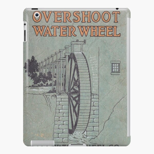 Vintage Water Wheel Catalog Cover iPad Snap Case