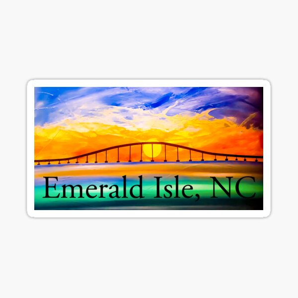 Emerald Isle NC  Sticker