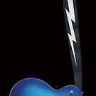 GUITAR BLUE ACE by Rockwell47