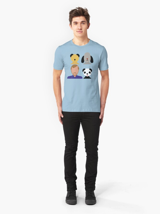 Alternate view of NDVH The Sooty Show Slim Fit T-Shirt