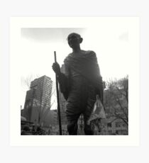 monument, union square park, nyc Art Print