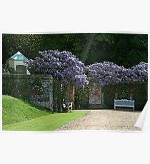 Blickling Hall Gardens Poster