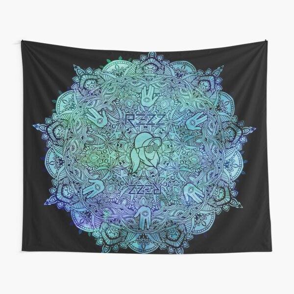 Rezz Mandala Tapestry