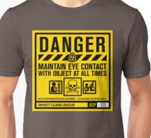SCP 173 Warning Sign Unisex T-Shirt