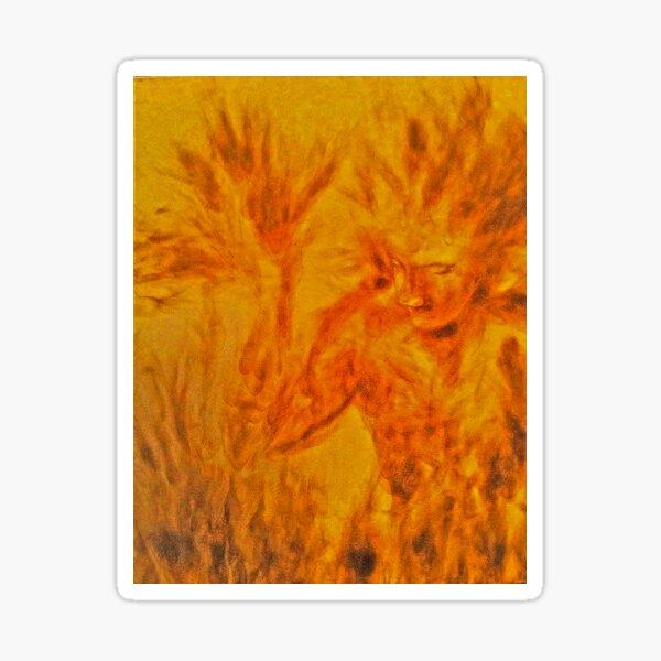 The Burning Man Sticker