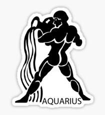 Zodiac sign - Aquarius Sticker