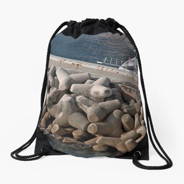 Monaco Tetrapods Drawstring Bag