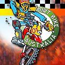 Dirt Bike Australia - Hot Stuff for Poster Art by Wizard
