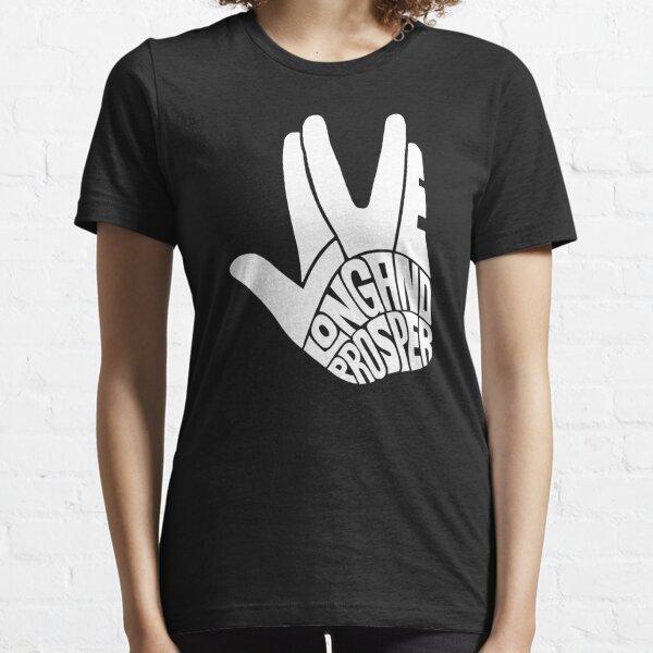 Star Trek Live Long et Prosper White T-shirt essentiel