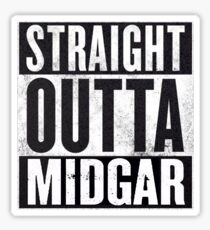 Straight Outta Midgar Sticker