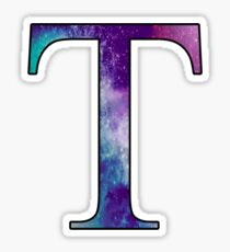 Tau Galaxy Sticker