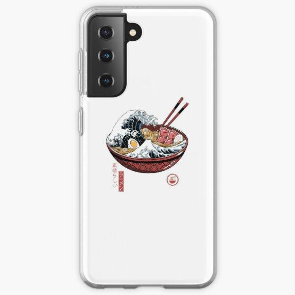 Great Ramen Wave White Samsung Galaxy Soft Case