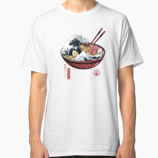 Great Ramen Wave White Classic T-Shirt