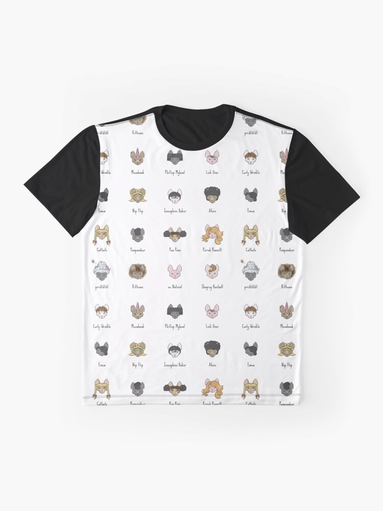 Alternate view of Let's Doo This [Trendy Hair Styles for Sphinx Cats] Graphic T-Shirt