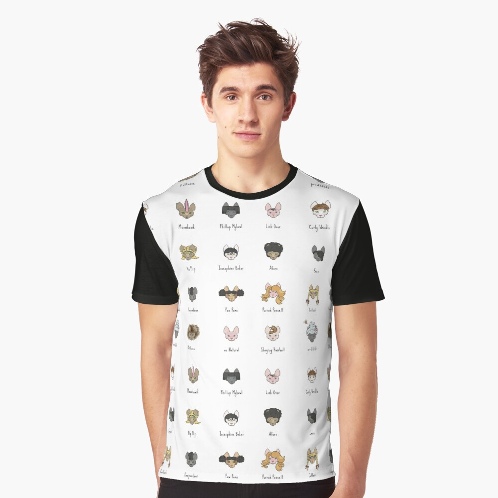 Let's Doo This [Trendy Hair Styles for Sphinx Cats] Graphic T-Shirt