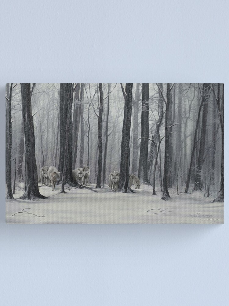 Alternate view of Ghostly Revelation Canvas Print