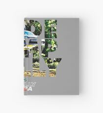Slide Jump Rally - Colour/Grey Hardcover Journal