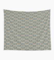 Slide Jump Rally - Colour/Grey Wall Tapestry
