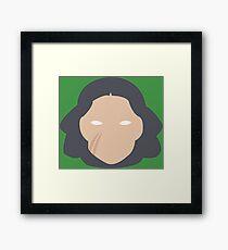 Lin Framed Print