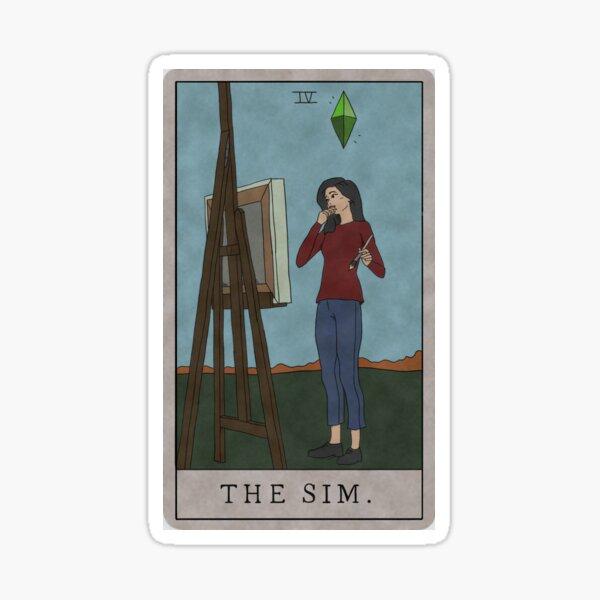 The Sim Sticker