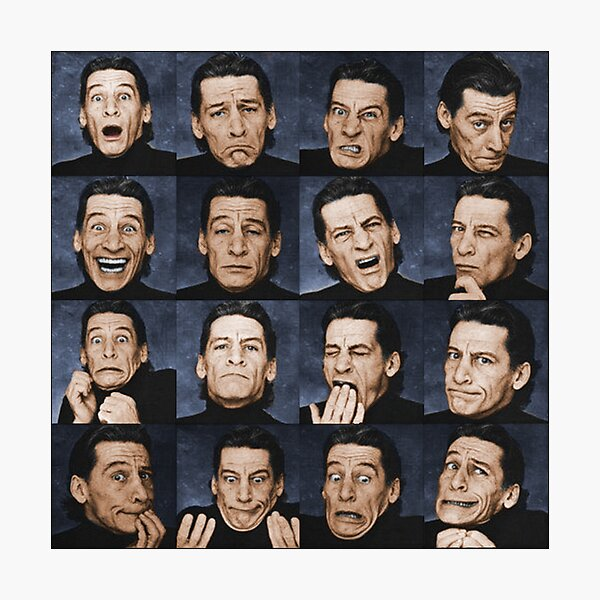 Funny Faces with Jim Varney in Glorious Colour Photographic Print