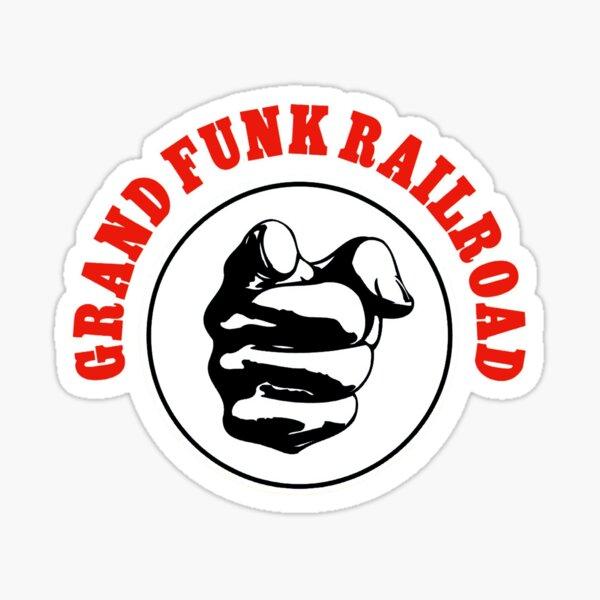 Grand Funk Railroad Stickers | Redbubble