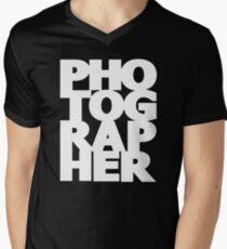 Gift For Photographer Men's V-Neck T-Shirt