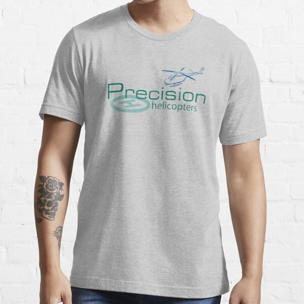 Precision Helicopters Logo Essential T-Shirt