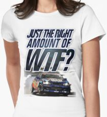 Just the right amount of WTF? Women's Fitted T-Shirt