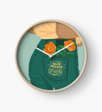 A Little Back Pocket Luck Clock