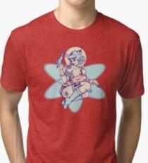 Space Babe Tri-blend T-Shirt