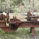 an old lathe left after mill closed by Bettysplace