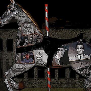 merry-go-round horse by coxon