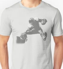 Hurdling Football Player Collection T-Shirt