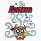 Princess of Powerpuff (sticker friendly) by MightyRain